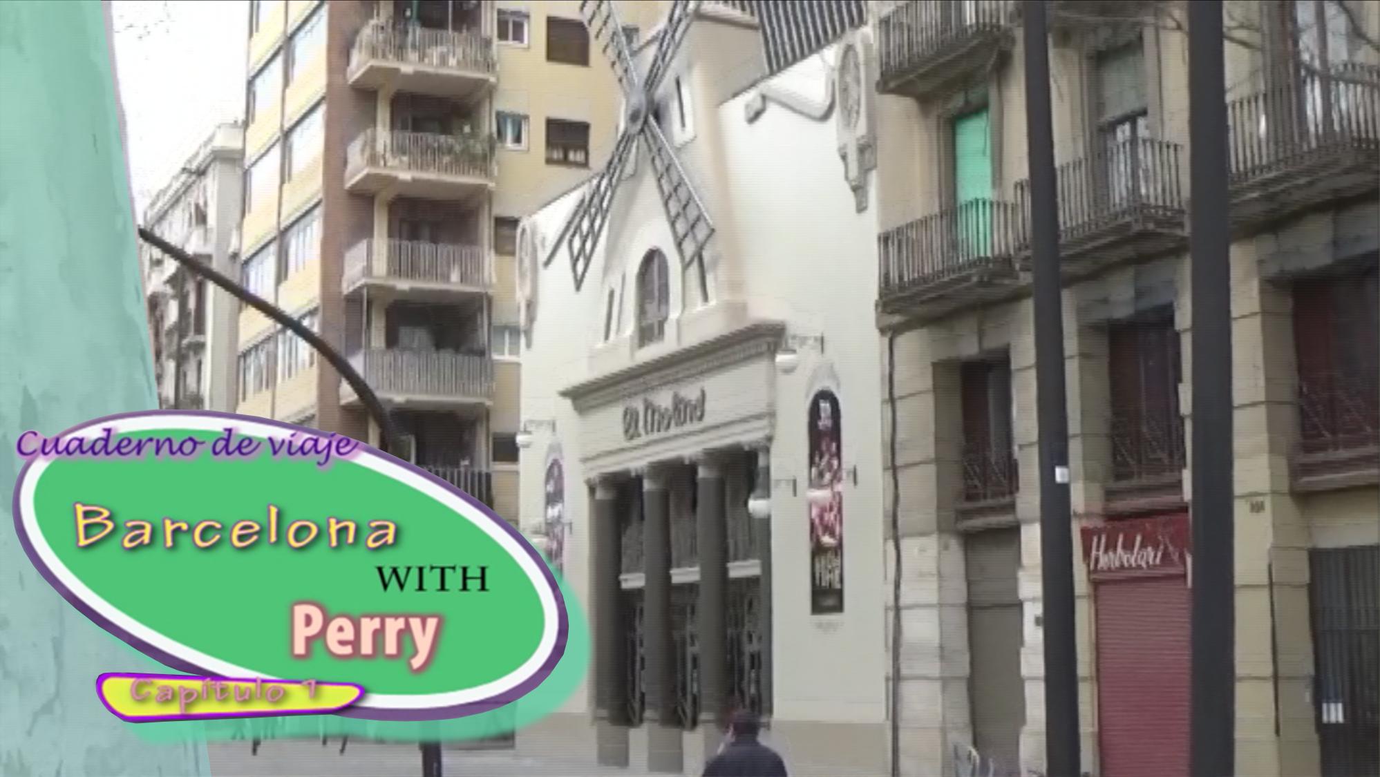 """Cuaderno de Viaje """"Barcelona con Perry"""" CAP. 1"""