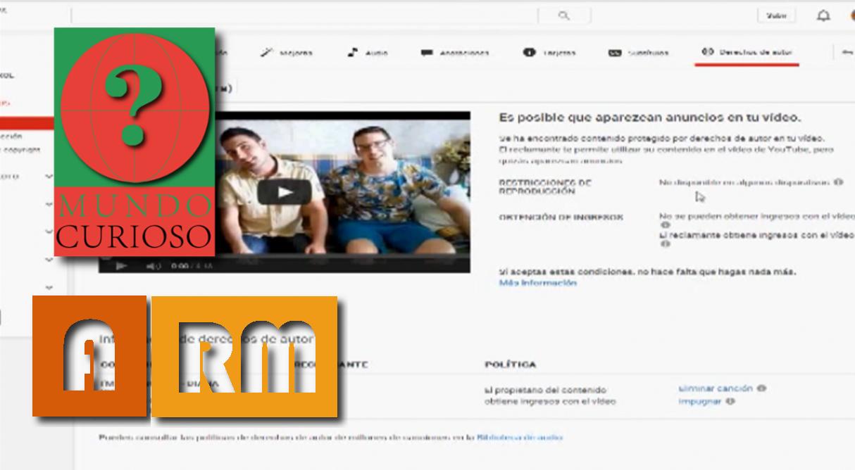 """MUNDO CURIOSO Episodio 1 """"Youtube y los derechos de copyright"""""""