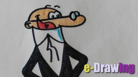 e-Drawing. Aprende a dibujar a Mortadelo