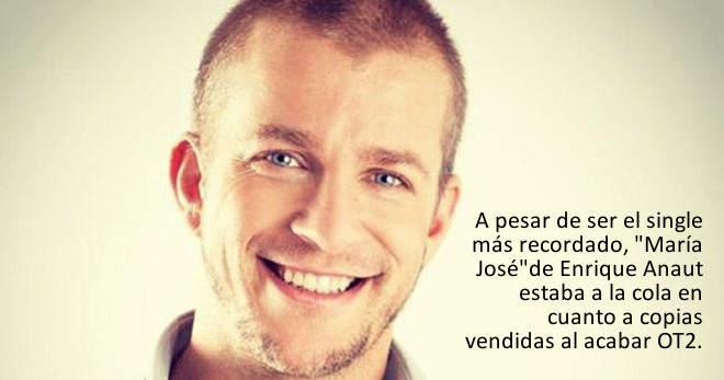 "Enrique Anaut (OT2) sobre su single María Jose: ""¡qué horror de tema!"""