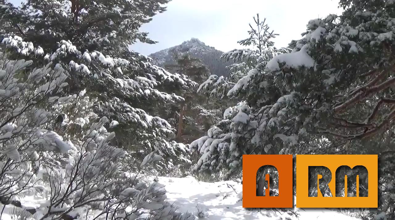 Un día en la nieve: Ruta de la Calzada Romana en Cercedilla
