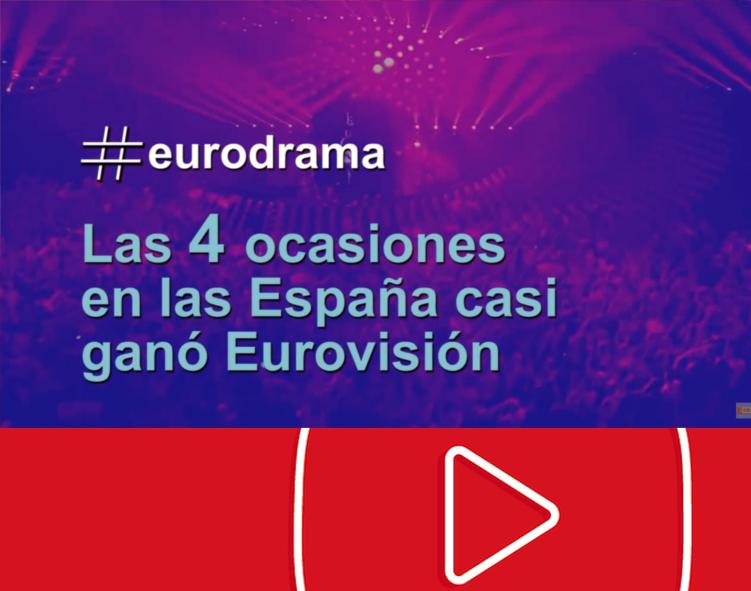 #eurodrama | Las 4 veces que España casi gana Eurovisión